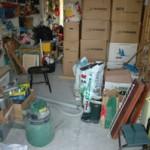 Garaget innan det blev butik
